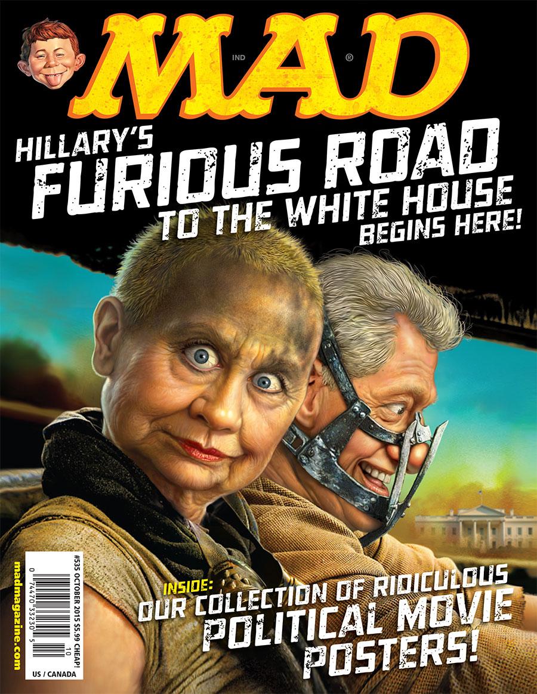 HillaryonFuryRoad